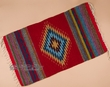 "Zapotec Indian Southwestern Rug 23""x39"" (36)"