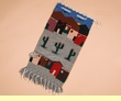"Zapotec Indian Southwestern Tapestry 15x30"" (20)"
