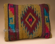 Zapotec Indian Southwestern Wool Pillow 12x16  (p1)