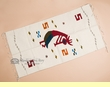 "Zapotec Indian Tapestry Rug 30""x60"" -Kokopelli  (z22)"