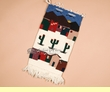 "Zapotec Indian Wall Tapestry 15""x30"" -Southwest  (22)"