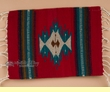 "Zapotec Indian Wool Place Mat  16""x20"" (al)"
