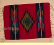 "Zapotec Indian Wool Place Mat  16""x20"" (bj)"
