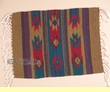 "Zapotec Indian Wool Place Mat  16""x20"" (f)"
