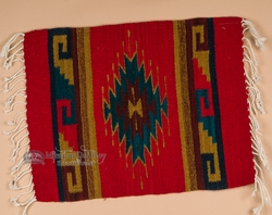 Zapotec Indian Wool Place Mat 16 Quot X20 Quot F Southwestern