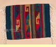"Zapotec Indian Wool Place Mat  16""x20"" (r)"