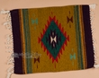 """Zapotec Indian Wool Place Mat  16""""x19"""" (r)"""