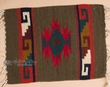 "Zapotec Indian Wool Place Mat  16""x20"" (z)"