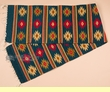 "Zapotec Indian Wool Table Runner 15""x80"" (b38)"