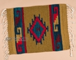 "Zapotec Mexican Place Mat  16""x20"" (aq)"