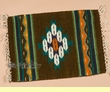 "Zapotec Mexican Place Mat  16""x20"" (bg)"