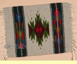 "Zapotec Mexican Place Mat  16""x20"" (c)"