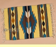 "Zapotec Mexican Style Place Mat  16""x20"" (ac)"