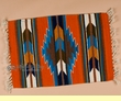 "Zapotec Southwest Place Mat  15""x21"" (e)"