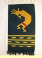 "Zapotec Wall Hanging -Kokopelli 15""x30"" (58)"