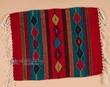 "Zapotec Wool Place Mat  16""x20"" (ah)"