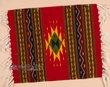 "Zapotec Wool Place Mat  16""x20"" (ap)"