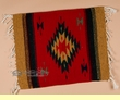 "Zapotec Wool Place Mat  16""x20"" (b)"
