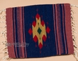 "Zapotec Wool Place Mat  16""x20"" (bb)"