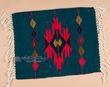 "Zapotec Wool Place Mat  16""x20"" (bf)"