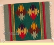 "Zapotec Wool Place Mat  16""x20"" (bn)"