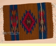 "Zapotec Wool Place Mat  16""x20"" (br)"