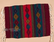 "Zapotec Wool Place Mat  16""x20"" (v)"