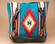 Zapotec Southwest Style Wool Rug Purse  (p403)