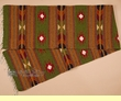 """Zapotec Wool Table Runner 15""""x80"""" (a36)"""