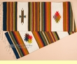 "Zapotec Wool Table Runner 15""x80"" (a61)"
