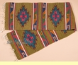 "Zapotec Wool Table Runner 15""x80"" (a64)"