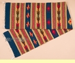 """Zapotec Wool Table Runner 15""""x80"""" (a69)"""