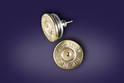 Brass Bullet Earrings. What's your caliber?