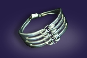 Fork Bracelet with Magnectic Clasp