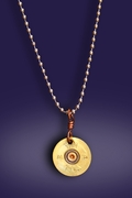 Shot Gun Shell Necklace
