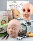 Reborn Doll Sculpting Kit: Basic Full Size Baby Faces. Make your own OOAK!