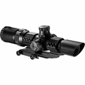 SWAT Scope - 1-4x28mm 30mm Tube IR Glass Mil-Dot Reticle