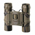 Essentials Binoculars - 10x25mm Brown Camo Roof Prism Compact