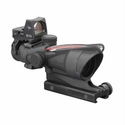 ACOG 4x32 - Dual Illuminated Red Chevron .223 Ballistic RMR Sight & TA51 Mount