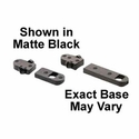 2 Piece Base - Savage Short/Long Round Rear Black Matte