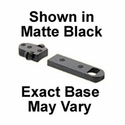 Trumount Universal Reversible Extension Bases - Savage Round Rear Matte