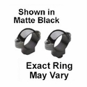 "Standard 1"" Rings - Low Black Matte"