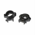 "Signature 1"" Zee Rings - Medium Black Gloss"