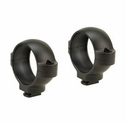 Signature Double Dovetail Rings - Medium Matte Black