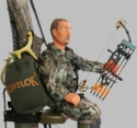 "Hunter Dan Bow Hunter 8"" Action Figure Toy"