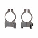 Z2 Alloy Scope Rings - High Silver