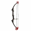 Genesis Pro Bow - Left Handed Black With Red Camo