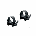Quick Release Weaver-Style 30mm Rings - High Matte Black
