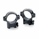 "Rimfire Ring Mounts - 13mm 1"" Medium Black"