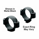 Standard 30mm Rings - Medium Matte Black